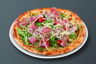 Pizza Filetto rucola e scaglie
