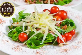 Fitness arugula salad