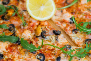 "Pizza ""Seafood fruit"""