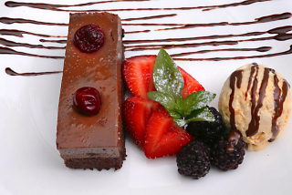 "Chocolate cake ""Glamour"""