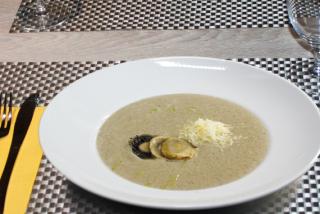 Supă cremă din ciuperci