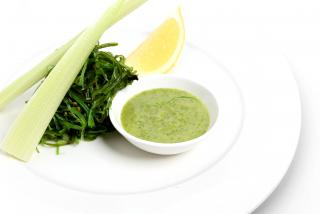 Салат из водорослей чукка