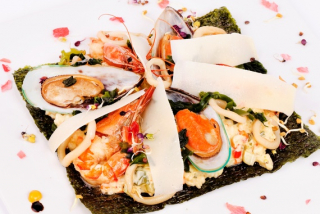 Amazing Seafood Risotto