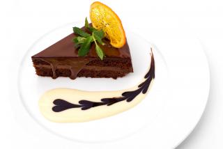 Кафе-Кафе шоколадный торт