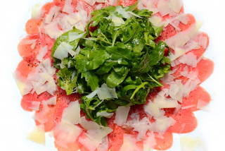 Filet mignon Carpaccio