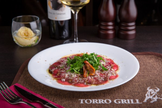 Carpaccio of tender veal