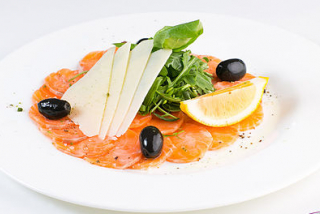 Carpaccio de somon