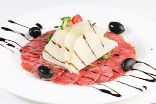 Carpaccio of veal