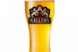 Kellers Zwickel Bier (blonda nefiltrata)