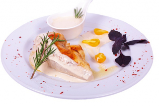 Chicken with Dorblu sauce