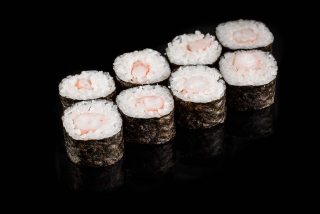 Maki with shrimp