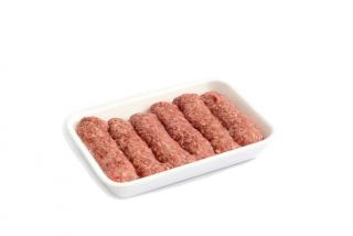 Skinless sausages