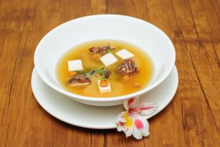 Miso supă cu somon