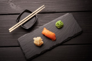 Nigiri salted salmon