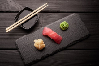 Nigiri with tuna