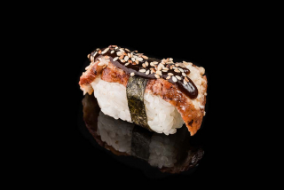 Nigiri with eel