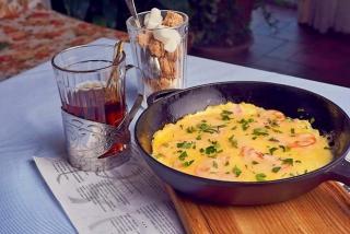 Cottage omelette