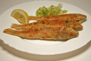Pыба барабулька (весовое блюдо)