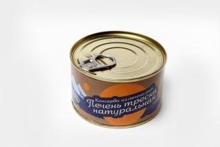 Cod liver natural