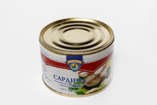 Sardine natural with oil