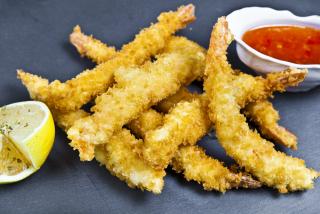 Crevetii aluat tempura