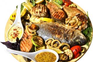 Platou mix din pește