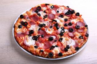 Pizza Quattro salame