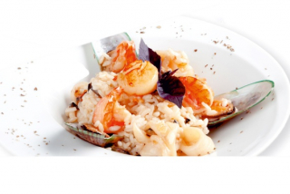 Risotto with sea-produce
