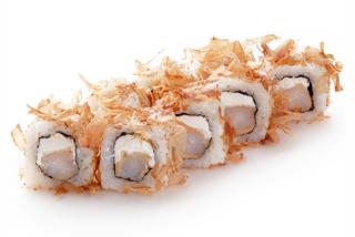 Roll Philadelphia Ebi tempura