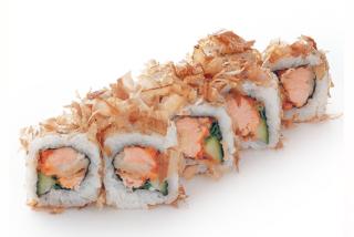 Roll Salmon skin