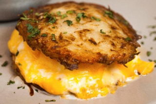 Rosti with cheese
