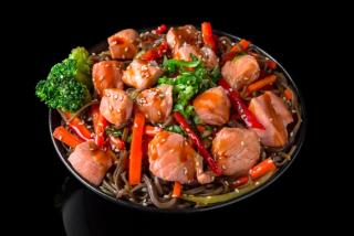 Sake Udon Noodles