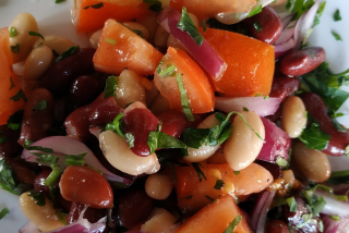 Bean Salad with Tomato