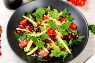 Chili mango quinoa salad