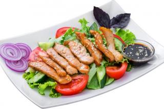 Салат из куриного мяса