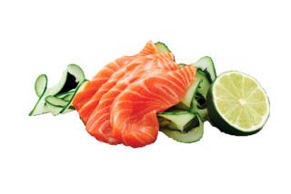 Sashimi somon
