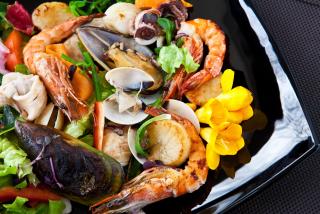 Morimoto seafood salad