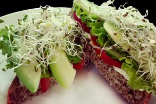 Сэндвич с авокадо