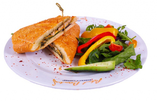 Grilled chicken sandwich
