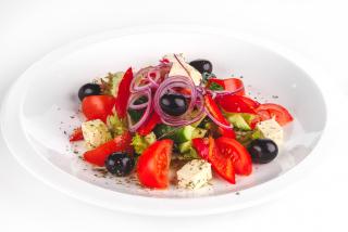 Салат Греческий с сыром Фетта