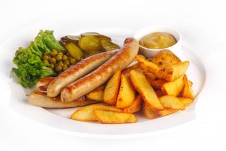 Баварские колбаски гриль