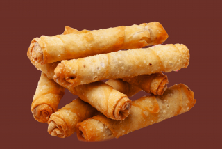 Sigara borek with chicken meat