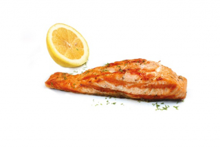 Salmon baked (weight product)