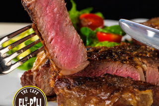 Veal grill-steak
