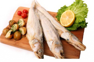 Pike perch cured (weight product)