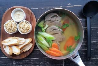 Фирменный суп Osho из говядины (на двоих)