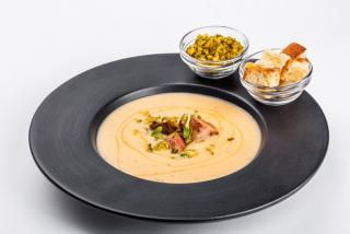 Фасолевый суп со свининой или курицей (на выбор)