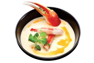 Supă cu crab