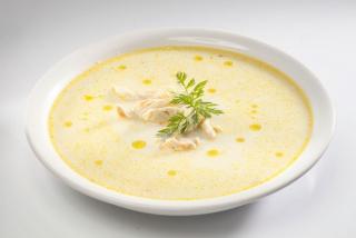 Греческий суп Avgolemono
