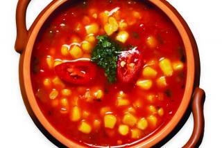 Corn soup (hot)